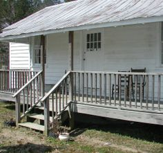 Exterior view of the farmhouse on the grounds of the 4-H Rural Life Center, 2005. 4-H Rural Life Center, Halifax County Agricultural Museum and Allen Grove Rosenwald School. Cultural Heritage Institutions of North Carolina, NC ECHO Project. NC Digital Collections.