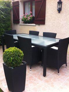 Salon de jardin Perugia Alice\'s Garden #jardin #terrasse #détente ...