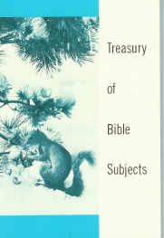 "The ""Treasury of Bible Subjects"" is published by Rod and Staff and has 28 Bible study chapters. Studies include topics such as Animals, Be and Be Not (character traits), Birds, The Body, Colors, Insects and Other Small Creatures, Plants, and many more. I included it here because in ""The Rainbow Covenant"" there is a section on finding Bible verses on different colors. This book includes three pages on different colors and corresponding Bible verses. Excellent resource to have!"