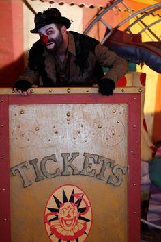 Ivan Moody as Hobo Clown in The Devils Circus