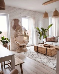 Boho Living Room, Room Decor Bedroom, Interior Design Living Room, Living Room Designs, Loft Interior, Decor For Living Room, Bench In Living Room, Room And Board Living Room, White Couch Living Room