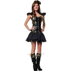 Discover an incredible selection of costumes for women at Party City. Get the latest female costume looks from TV and film, Halloween classics, DIY kits and more. Female Pirate Costume, Halloween Costumes For Teens, Cool Costumes, Pirate Costumes, Halloween Ideas, Renaissance Clothing, Steampunk Clothing, Gypsy Clothing, Teen Girl Costumes