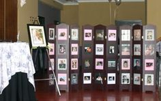 how to display photos at wedding - Google Search