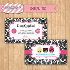 Tupperware business card digital file direct sales business posh business card marketing materials direct sales business card digital file printable by mymadeleine on etsy colourmoves Images