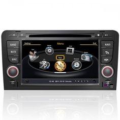 Auto DVD Player für Audi A3 (2003-2013) mit GPS,Bluetooth,3G,Touch Screen,Wifi,etc.