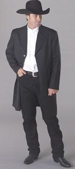 Wild west Victorian coat http://www.vintagedancer.com/victorian/victorian-mens-clothing/