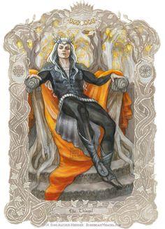 Elu Thingol by BohemianWeasel.deviantart.com on @DeviantArt