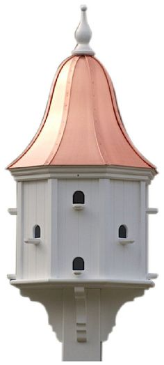 purple martin bird house plans 16 units - pdf download | martin