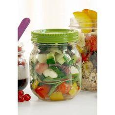 Classic Mason Food Jar grün, 0,47 l - Bento Shop