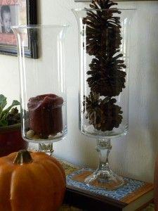 Make your own Hurricane glasses   http://afewshortcuts.com/2010/10/how-to-make-your-own-hurricane-glasses/