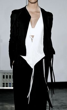 #fashion #black and white #women apparel - Juan Carlos Obando | Spring 2015