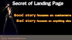 Good Story focuses on customers. Click on Visit to read more...