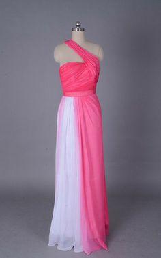 Chiffon rückenfreies Etui bodenlanges Festliche Kleid/ Abendkleid