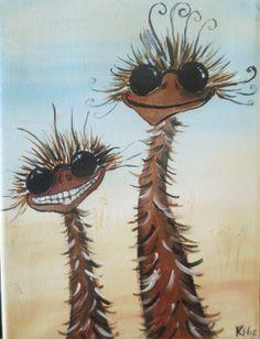 sunny day  emu