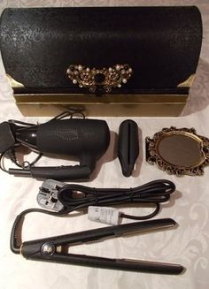 Buy here at #vinteduk http://www.vinted.co.uk/womens-beauty/hair-care/6361359-ghd-midnight-deluxe-limited-edition-gift-box-with-amazing-travel-essentials