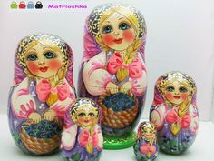 TheRussian #Matrioshkais highly demanded dolls all over the world as a symbol of Russian culture and traditions.