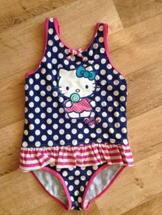 Girls m&s hello #kitty #swimming #costume - age 6-7 years,  View more on the LINK: 	http://www.zeppy.io/product/gb/2/401058198829/