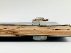 binding detail, 1927  monographies futuristes | Fortunato Depero