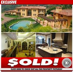 Haunted 'Idol' House -- SOLD for $11.2 Million Ghost News, Creepy, Scary, American Idol, Beverly Hills, Mansions, House Styles, Pictures, Home