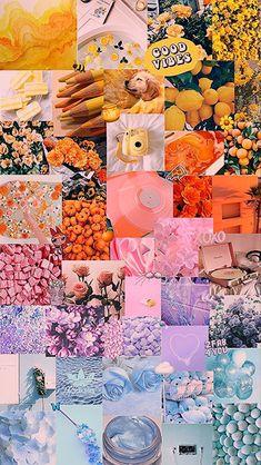 Butterfly Wallpaper Iphone, Rainbow Wallpaper, Iphone Background Wallpaper, Colorful Wallpaper, Galaxy Wallpaper, Iphone Wallpaper Tumblr Aesthetic, Aesthetic Pastel Wallpaper, Aesthetic Wallpapers, Cute Patterns Wallpaper