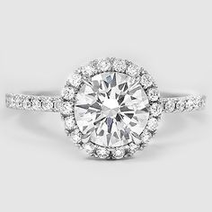 Platinum Waverly Diamond Ring