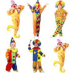 $15us aliexpress Halloween-Costumes-Kids-Children-Funny-Clown-Costume-Naughty-Harlequin-Uniform-Fancy-Cosplay-Clothes-for-Boys-Girls.jpg_640x640.jpg (640×640)