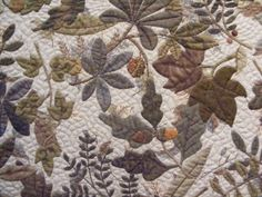 Yoko Saito - Leaves - Stitcheraddict 2
