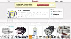 Does a Cleaning-Equipment Company Belong on Pinterest? - NYTimes.com.  Read more on this Piece from New York Times on The ETS Company Pinterest Site! http://boss.blogs.nytimes.com/2012/05/30/does-a-cleaning-equipment-company-belong-on-pinterest/#