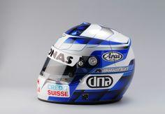 F1 helmet Räikkönen first test Sauber