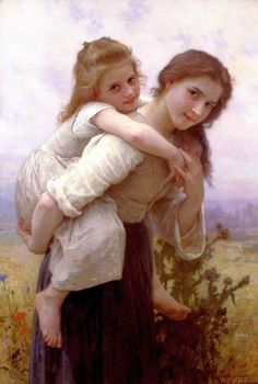 Adolphe William Bouguereau. A selection of works