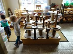 Why do some groups of children work so proficiently with loose parts while others show no interest?   The environments are equally enriche...