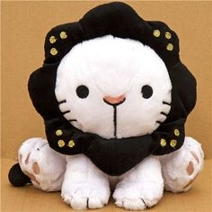 plush toy white lion Sentimental Circus kawaii