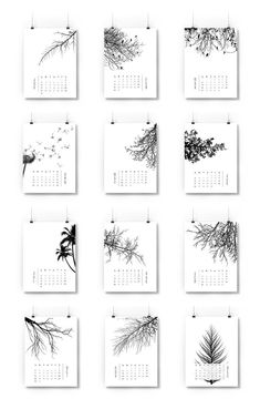 Calendario 2016 Gluten Free Recipes t fal gluten free bread maker Graphic Design Magazine, Kalender Design, Tree Graphic, Printable Calendar Template, Free Printable, Tree Silhouette, Bullet Journal Inspiration, Hand Lettering, Web Design