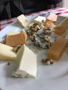 Selección de quesos asturianos