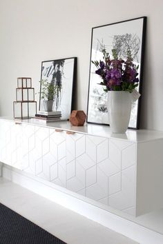 Hey Yeh | Pimp Your Ikea - beautiful patterned cabinets from supefront
