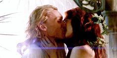 Jace Clary kiss