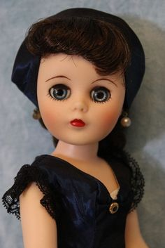 """14"""" Sweet Sue Sophisticate Doll by American Character in navy High Society."""