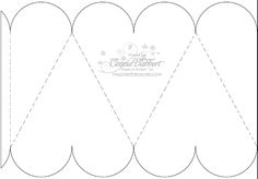 Four Sided Heart Box template, to fill with whatever YOUR heart desires!  ;)