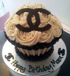 Chanel Giant Cupcake