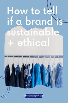 So, you're looking to buy new clothing and you'd like to support a sustainable and ethical brand. But, like most of us, you're wondering how to navigate such a loaded question. With so many companies greenwashing their products to make them appear more sustainable than they really are, it can be hard to tell Sustainable Products, Sustainable Style, Sustainable Textiles, Sustainable Clothing, Sustainable Living, Sustainable Fashion, Fast Fashion Brands, Fashion Blogs, Slow Fashion
