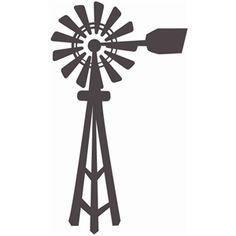 Silhouette Design Store: windmill