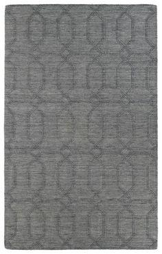 Kaleen Imprints Modern IPM03 Grey Rug | Contemporary Rugs