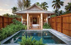 Paradise Perspectives and Indian Ocean secrets - Seychelles Luxury Beach Retreats of Desroches Island Seychelles Resorts, Seychelles Honeymoons, Open Plan Bathrooms, Hotel Bathrooms, Luxury Escapes, Jimbaran, Beach Accessories, Luxury Holidays, Island Resort