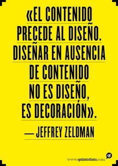 La frase del lunes, por Jeffrey Zeldman
