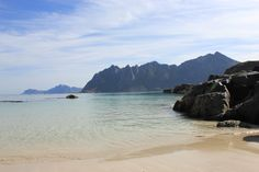 Beach at Sortland - Norway