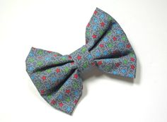 Dog Bow Tie - Charcoal Star Splash Bow Tie, Star Bow Tie, Cat Bow Tie