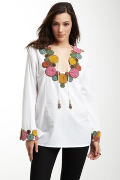 Deco Kurta by Monique Leshman on @HauteLook