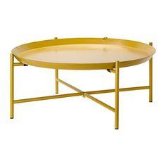 Ikea Tray table, yellow 28 3/4