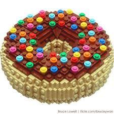 Ciambella di Lego... irresistibile!
