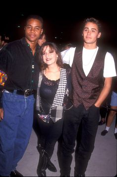 Cuba Gooding Jr., Jared Leto and Soleil Moon Frye, 1991
